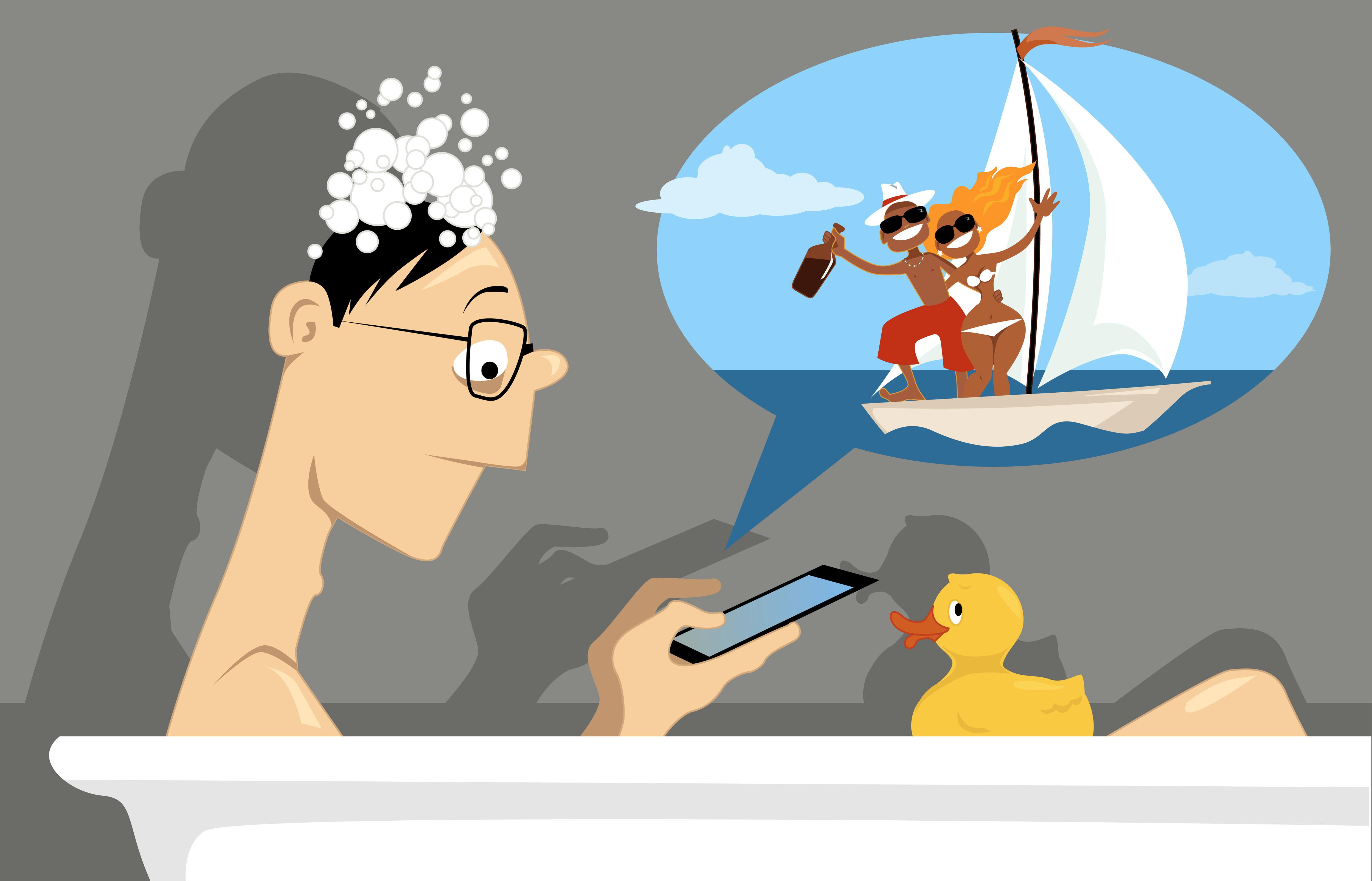 Internet dating bath