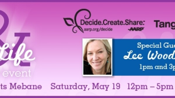 Decide.Create.Share. May 19 event invite
