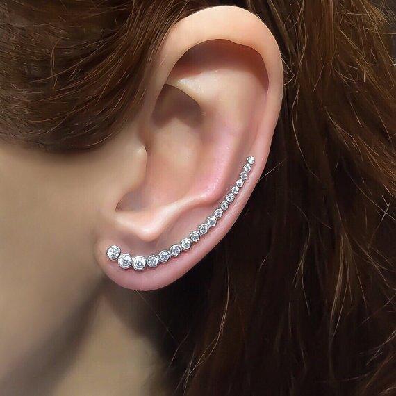 Etsy TrendSilver Ear Crawler