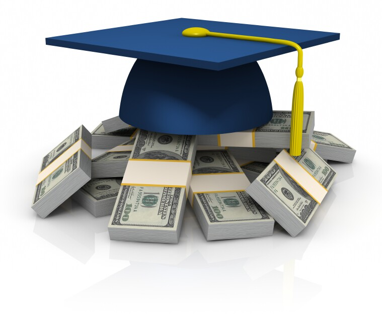 Graduate's Cap and Money, Education Expenses
