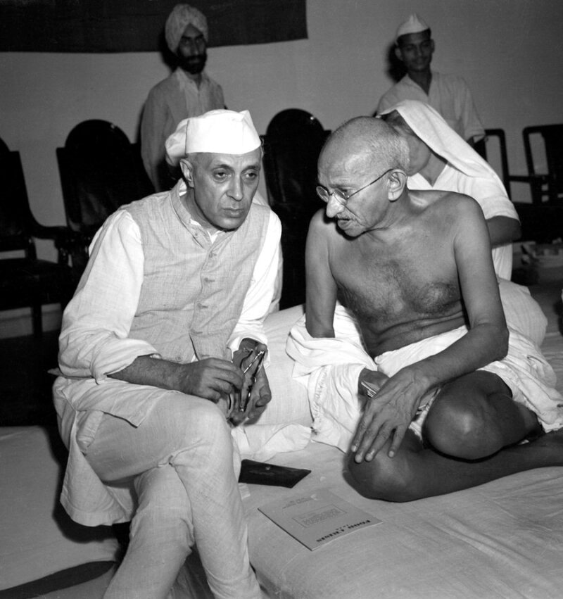 Nehru and Gandhi 1942
