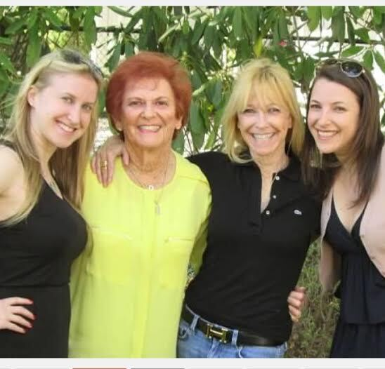 Alex, Mom, Lois, Jen Mother's Day 2014