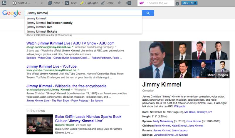 Jimmy Kimmel Search