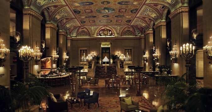 Lobby del Hilton Palmer House