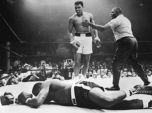 Muhammad Ali Sonny Liston Knock Out