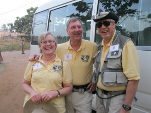 Polio vaccine volunteers