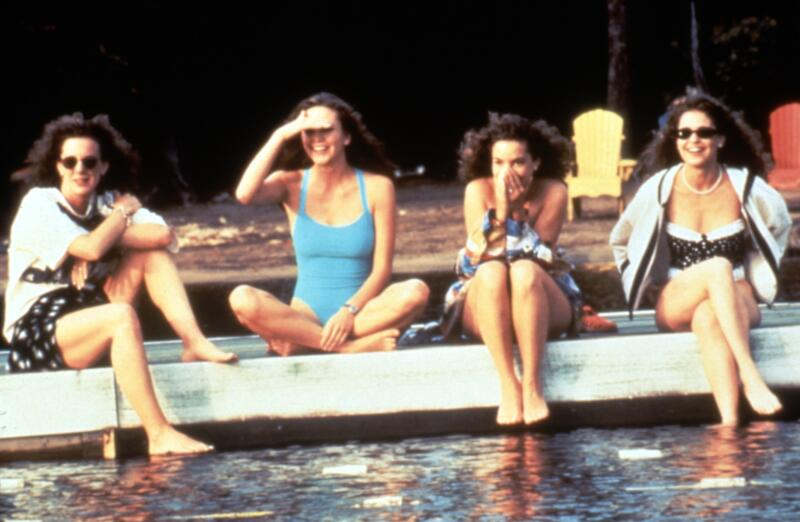 INDIAN SUMMER, Elizabeth Perkins, Diane Lane, Kimberly Williams, Julie Warner, 1993, (c)Buena Vista