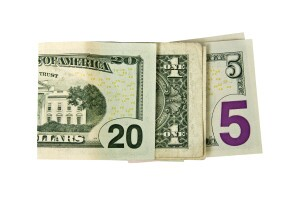 Cash that spells out 2015