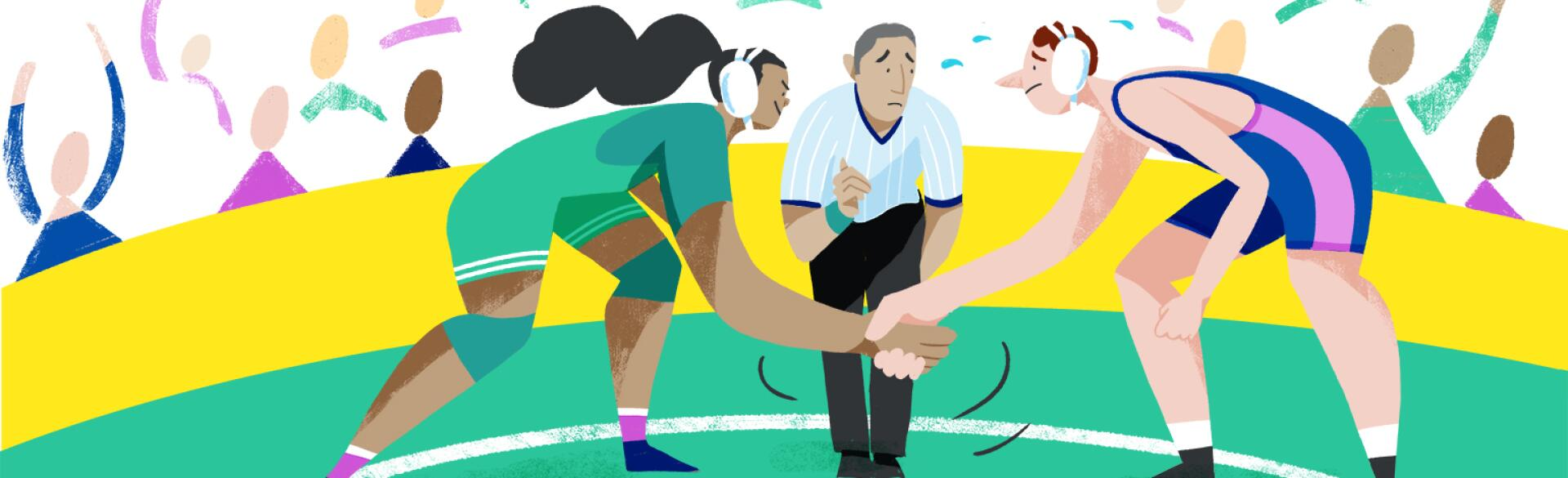 illustration_of_boy_shaking_hands_with_girl_for_wrestling_match_by_fiona_dunphy_1540x600.jpg