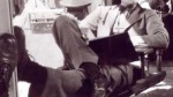 Katharine Hepburn suit