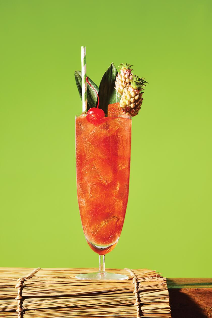 Tropical Cocktails For Your Backyard - Planters Punch