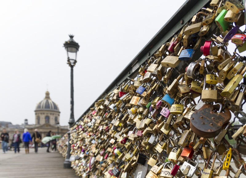 Paris - Bridge Des Arts - Locks