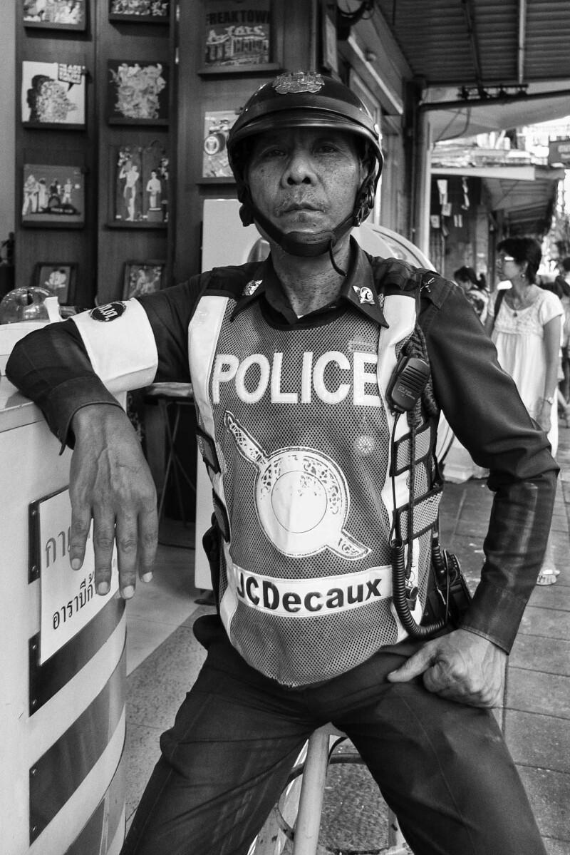 Thai policeman