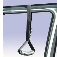Car door frame strap