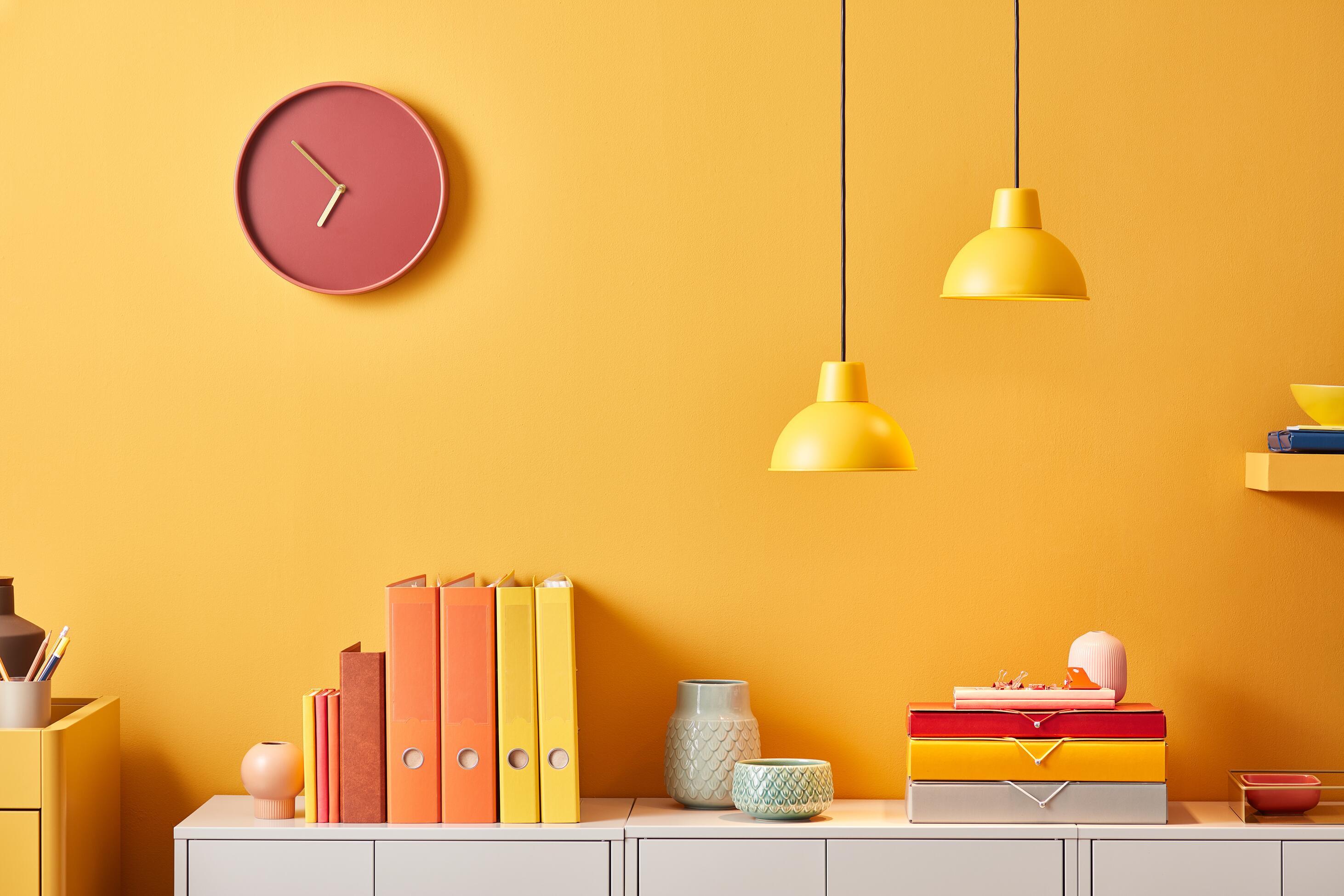 Modern Bright Design Of Office Storage