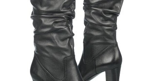 Ruched boots