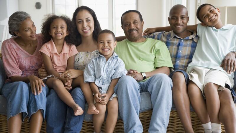 multigenerational African American family