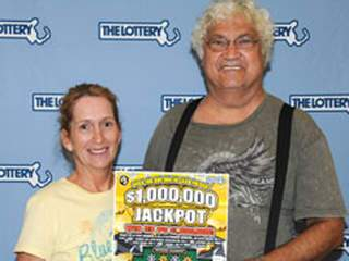 Lottery winners Joseph and Joanne Zagami