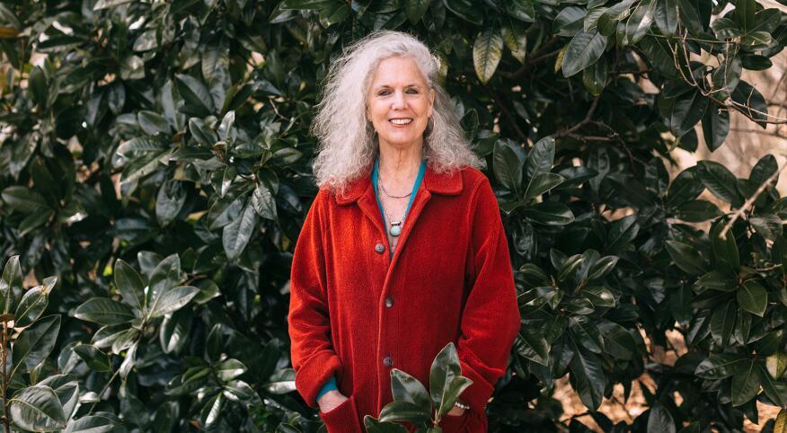 Ethel's Senior Editor, Iris Krasnow photographed at her home in