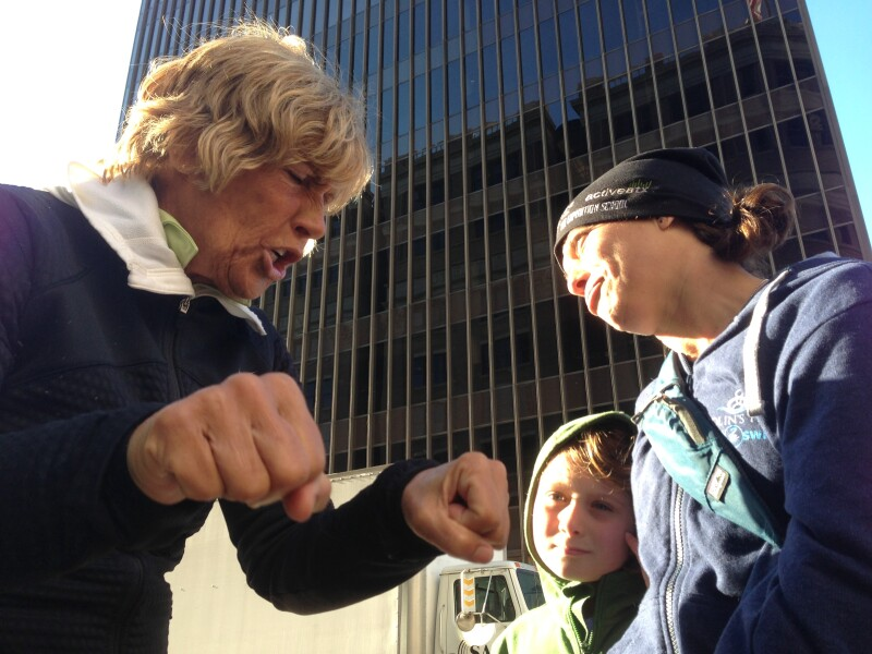 Diana Nyad on the Austin Walk at SXSW