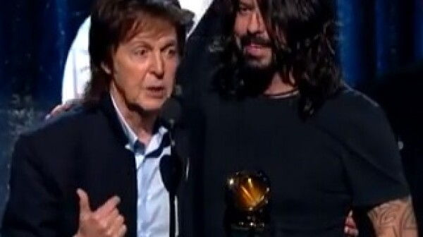 Paul McCartney at 2014 Grammys