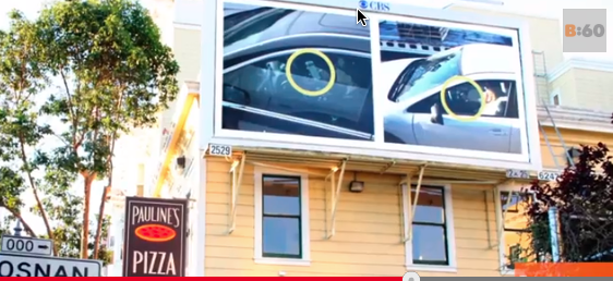 Texting while driving San Francisco billboards