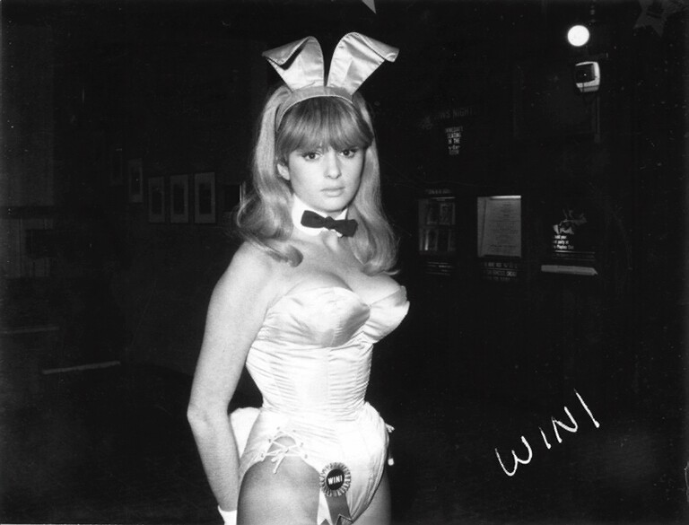 Wini Hammond in Bunny Girl Attire