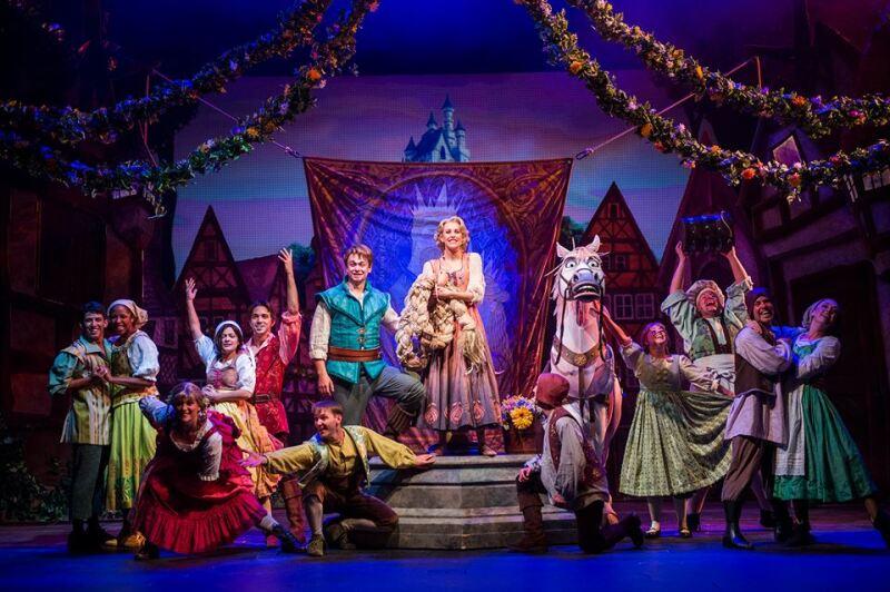 Elenco de Tangled, el musical de Disney Magic