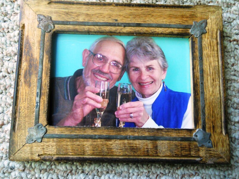 Home made picture frame via Jeff Yeager