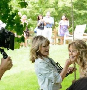 Sandy and Christie Brinkley