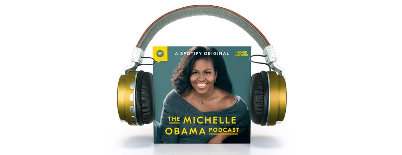 photo_of_earphones_over_michelle_obama_podcast_cover_art_by_chris_oriley_1440x400