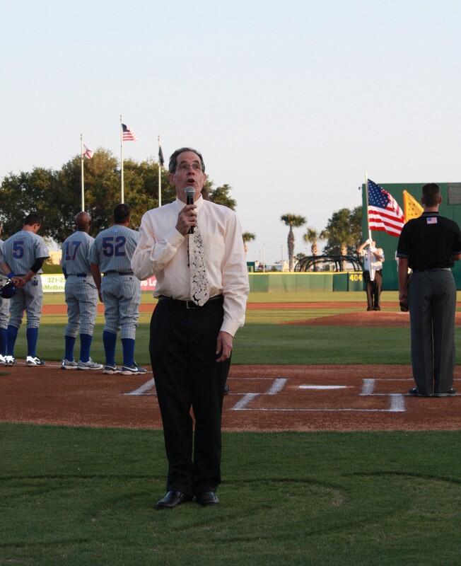 JoePrice at Manatees Ballpark Florida