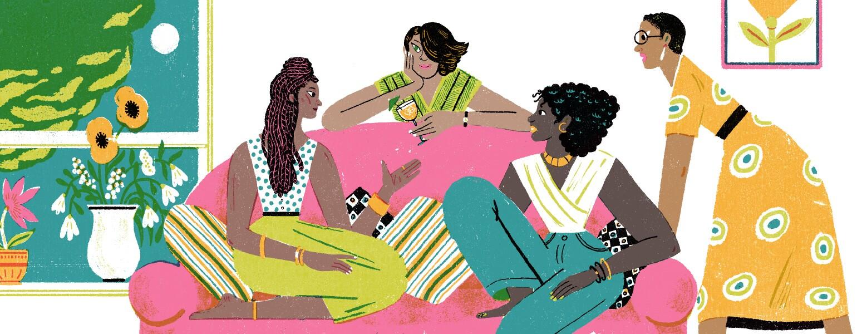 sisters, networking, aarp