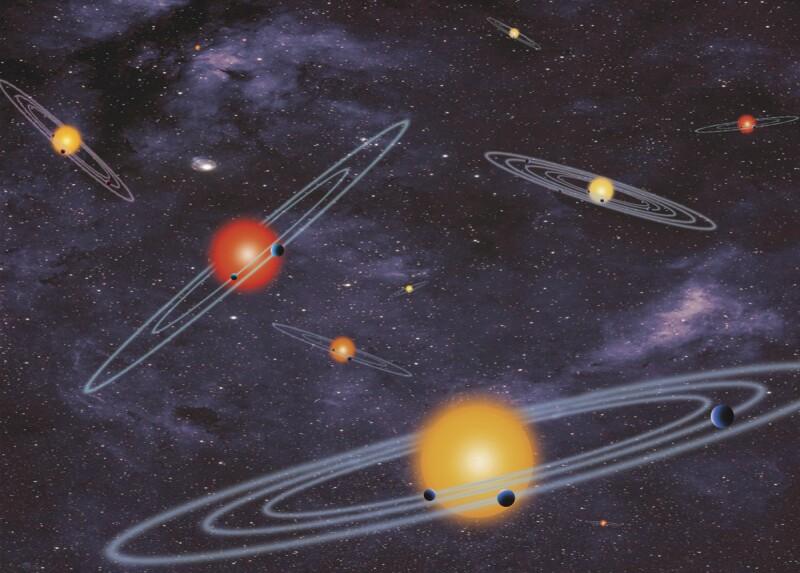 Multi transits NASA planets