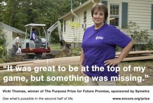 Purpose Prize winner for helping injured veterans find housing