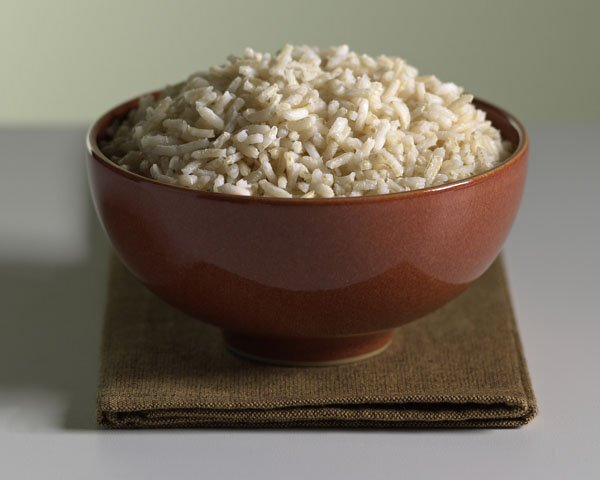 a food picture of rice