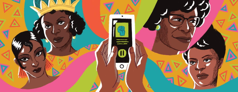 Spotify, Black Herstory Month, aarp, sisters