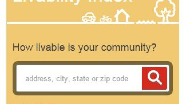 AARP Livability Index Widget