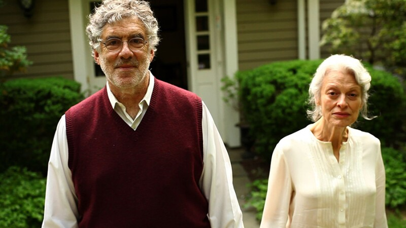 Elliott Gould and Judith Roberts