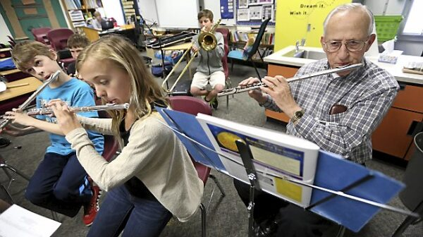 Exchange Senior Flute Player