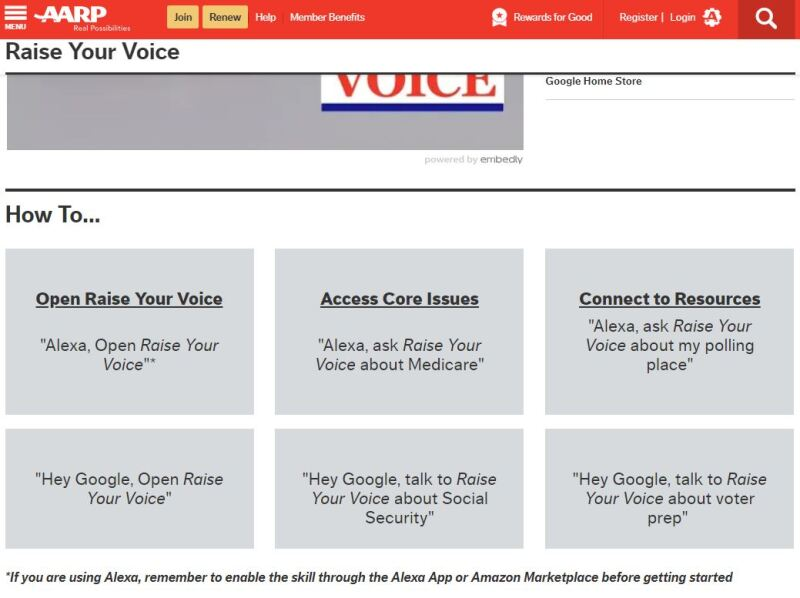 AARP Educates & Encourages Americans to Vote with Raise Your