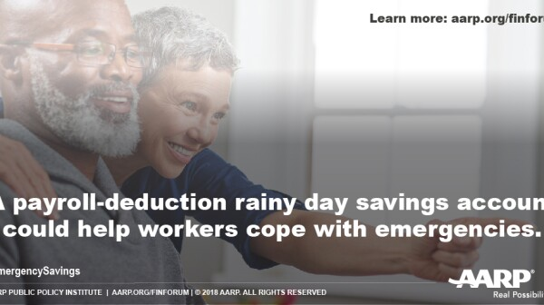 Payroll-deduction emergency savings program