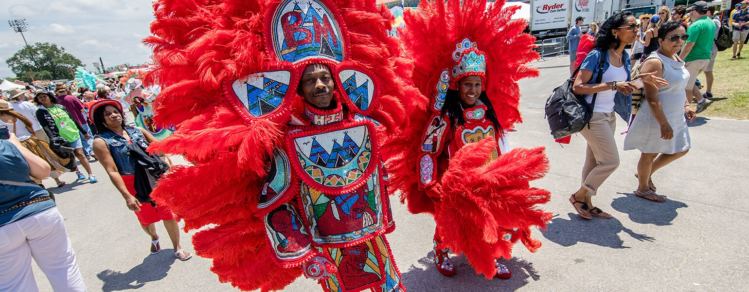 2018 New Orleans Jazz & Heritage Festival - Day 1