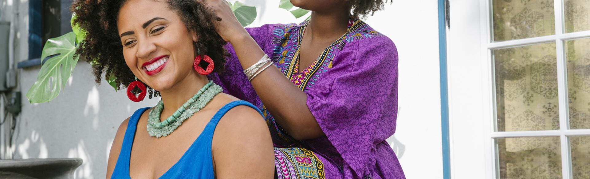 AARP, Sisters, hairdresser