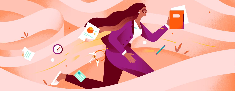 Work, Money, perimenopause, aarp, sisters, illustration