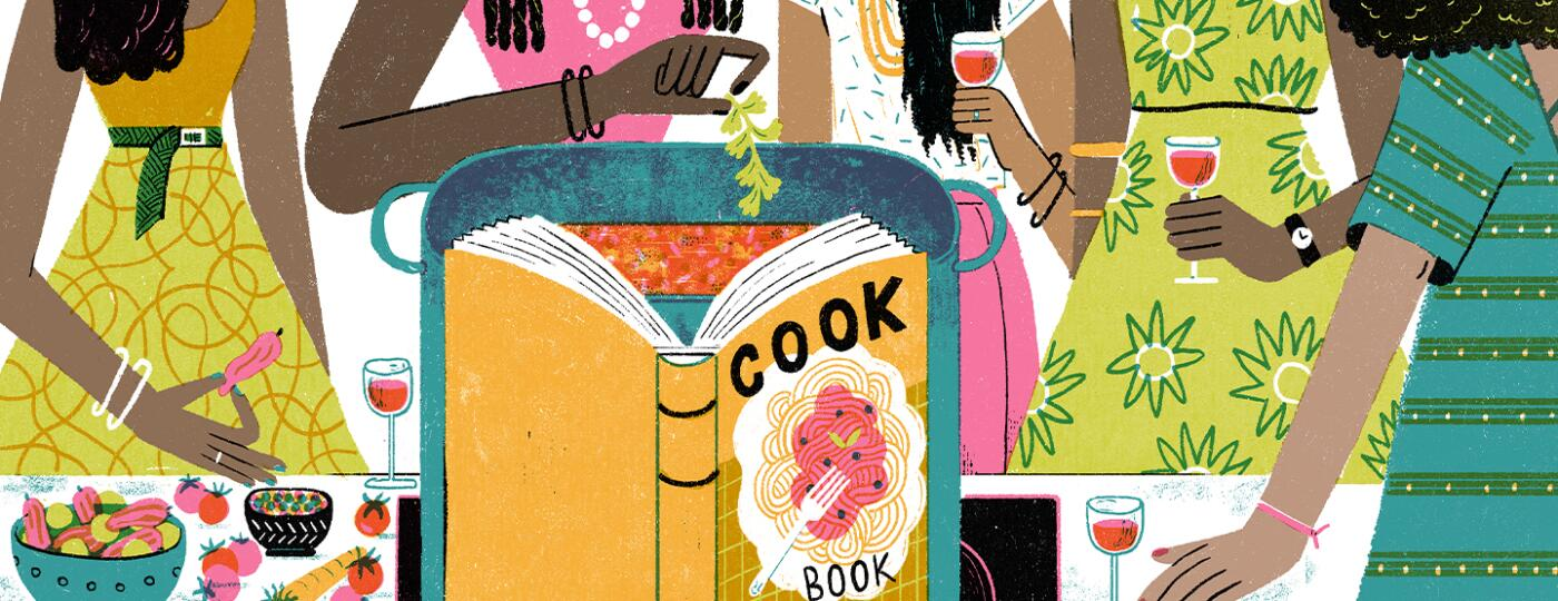 illustration_of_women_cooking_and_eating_together_looking_at_cookbook_by_irene_rinaldi_1440x560.jpg