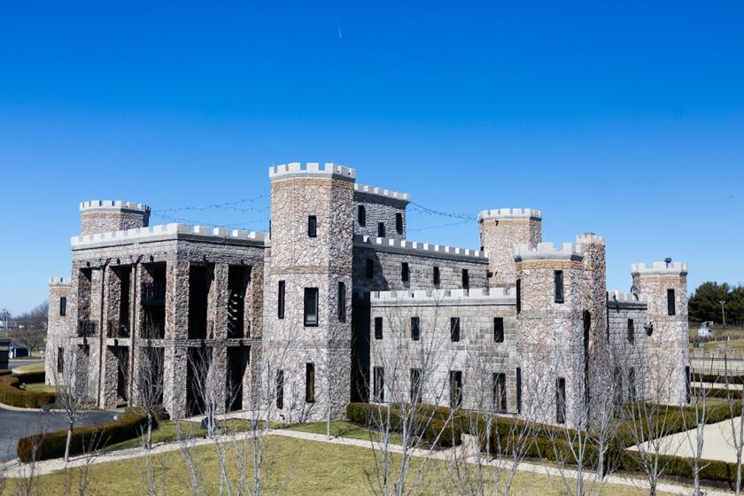 The Kentucky Castle in Versailles, Kentucky.