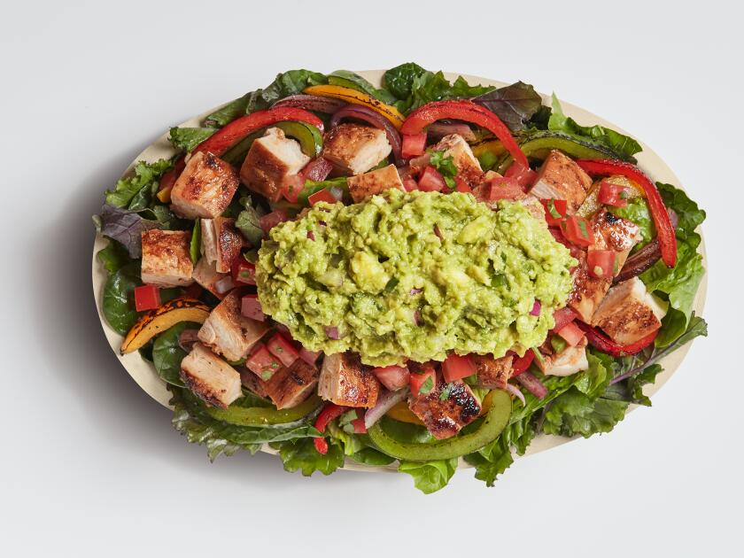 Chipotle's Supergreens Chicken Salad