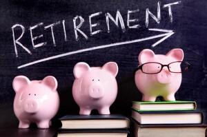 Retirement piggy banks