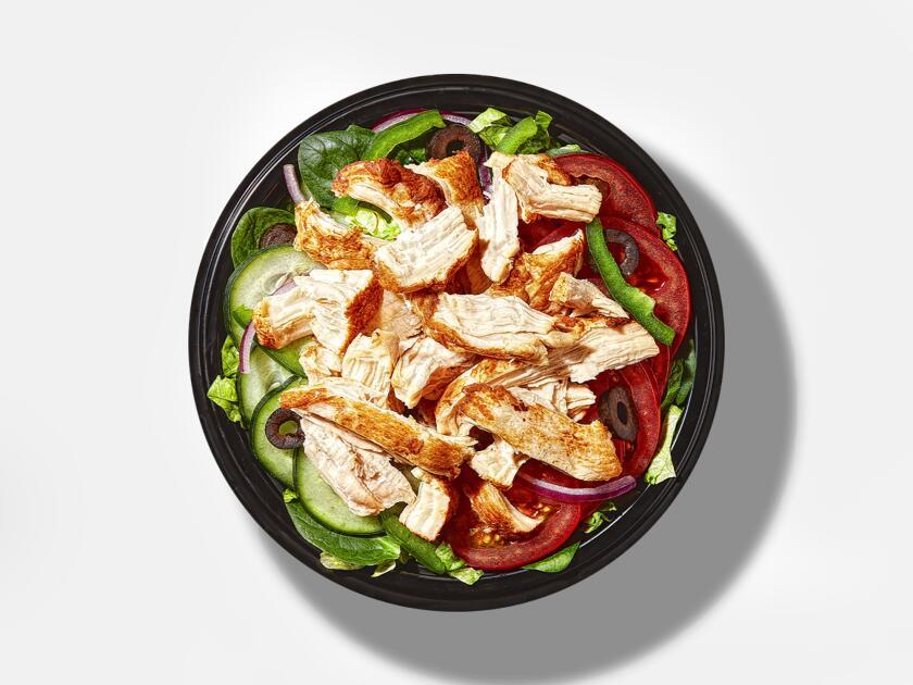 Subway's Rotisserie Chicken on a Bowl
